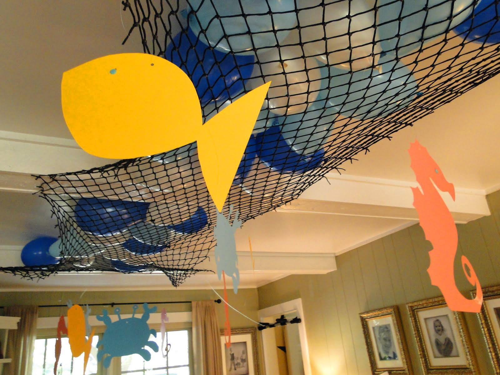 Украсить помещение в морском стиле своими руками