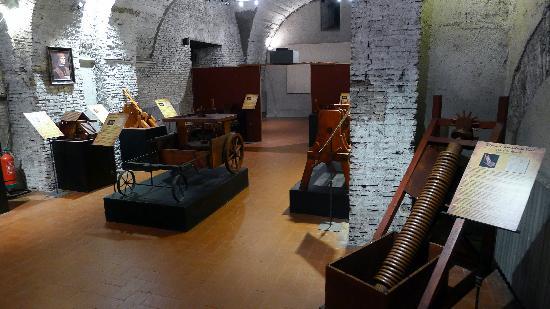 Leonardo Da Vinci múzeum Vinciben