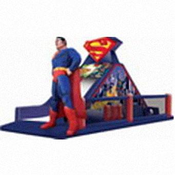 superman felfújható akadálypálya
